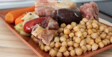 Receta de Cocido Madrileño en Olla Express