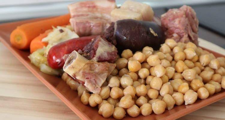 Resultado de imagen de cocido madrileño
