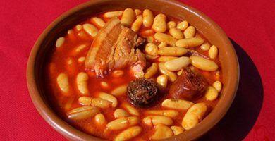 Receta de Fabada Asturiana en Olla Express