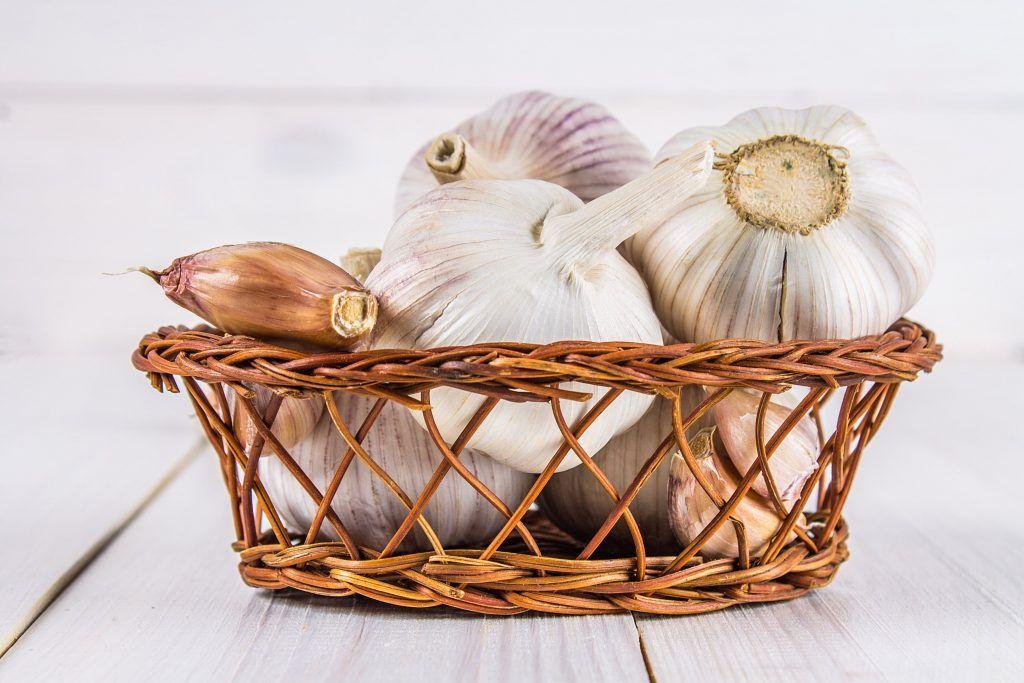 Canasta de Cebolla y ajo