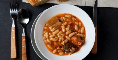 Fabada asturiana en olla rápida WMF