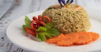 arroz integral en olla rápida