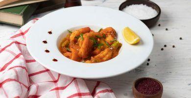 muslos de pollo en salsa olla express